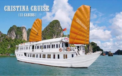 Cristina Cruise Halong bay