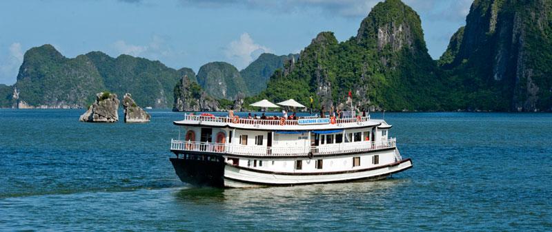 halong bay 3 star cruises sinhcafe travel. Black Bedroom Furniture Sets. Home Design Ideas