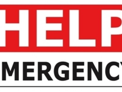 Help Emergency Home Sign