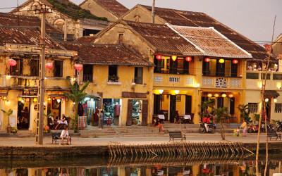 Hoian town in Vietnam