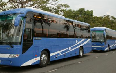 Vietnam open bus