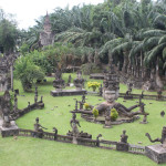 Vientiane city in Laos