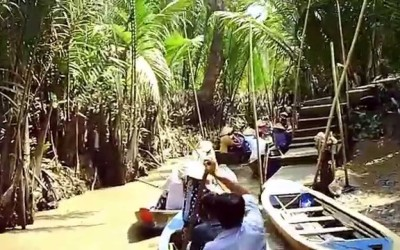 Cai Be Mekong delta