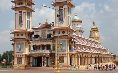 Cao Dai Temple in Vietnam
