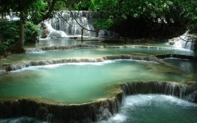 Kuang Si Waterfall in Luang Prabang