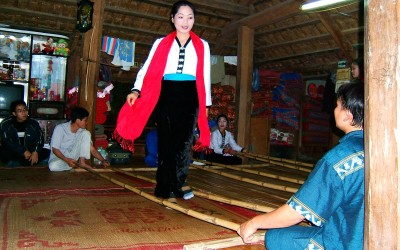 Sap Dance in Mai Chau