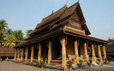 SiSaket Temple in Vientiane