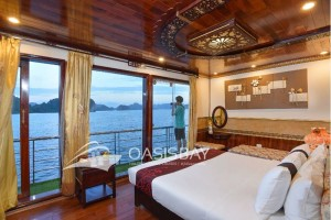 Oaisbay cruise Halong bay